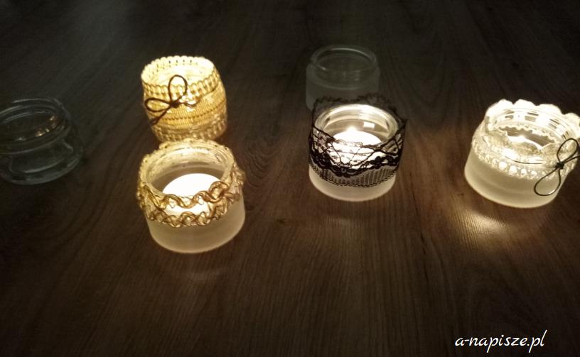 funkcjonalne świeczki