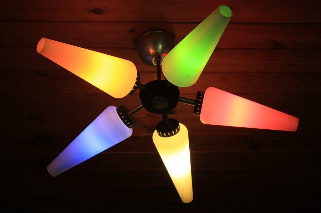 lampa kolorowa