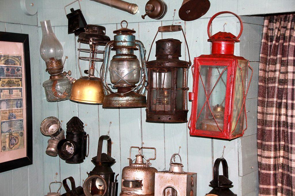 lampy i latarnie