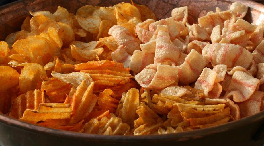 chipsy przekąska
