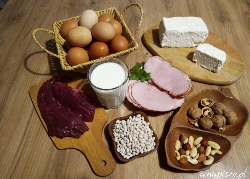 produkty białkowe