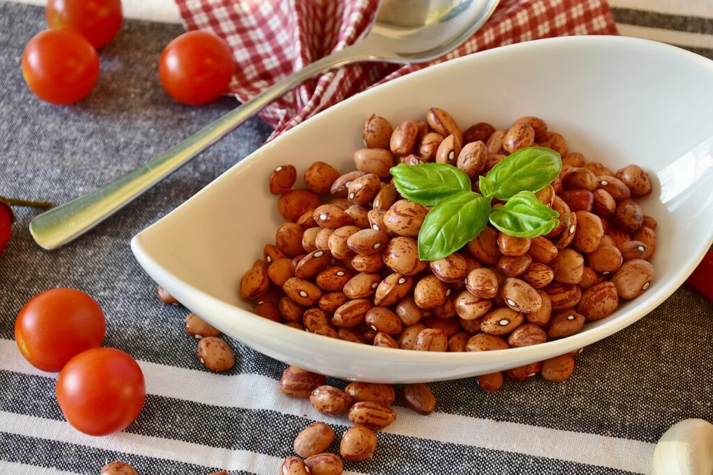 potrawy z fasoli zawierają białko