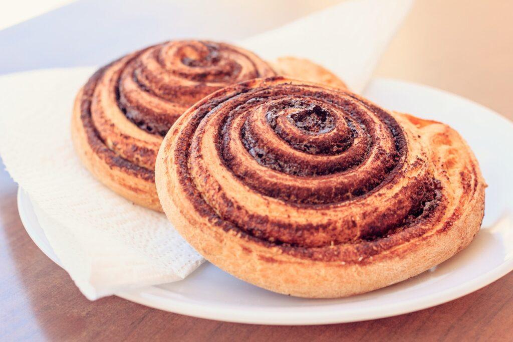 okrągłe ciastka