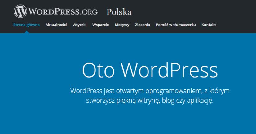 początki bloga wybór WordPress