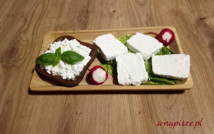 biały ser twarogowy