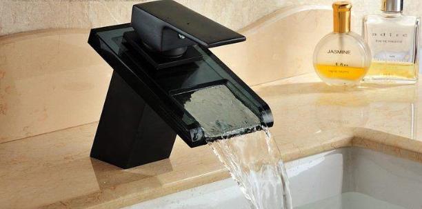 kaskadowa bateria umywalkowa