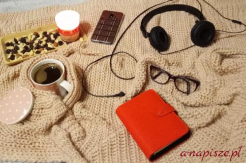 relaksująca chwila przy kawie