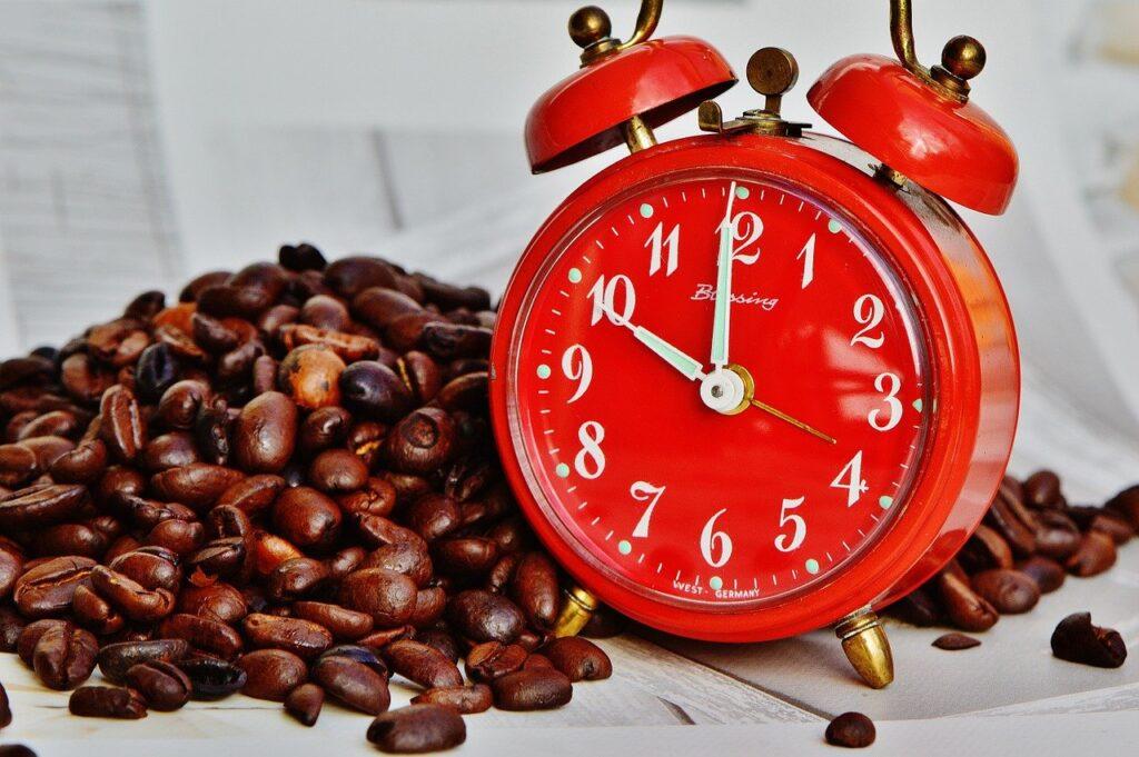 czas na relaks przy kawie
