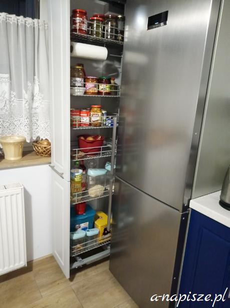 organizacja kuchni szafka spiżarka