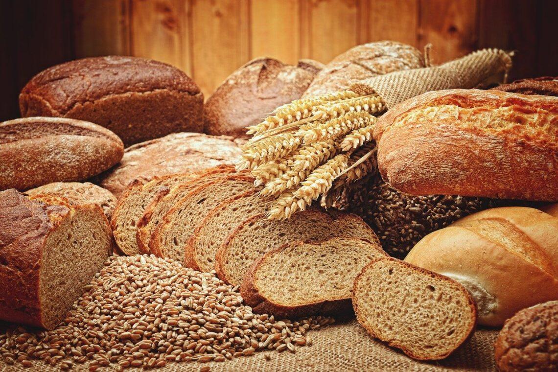 rożne rodzaje chleba