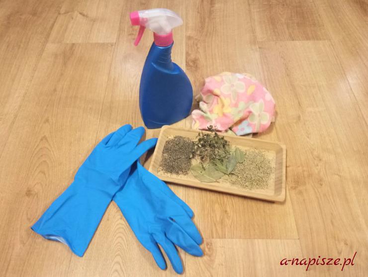 sprzątanie za pomocą ziół