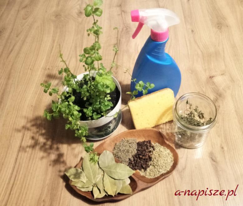 zioła do sprzątania