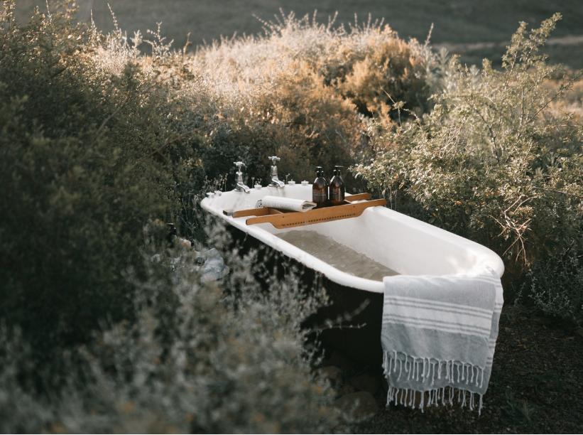 naturalna ziołowa kąpiel