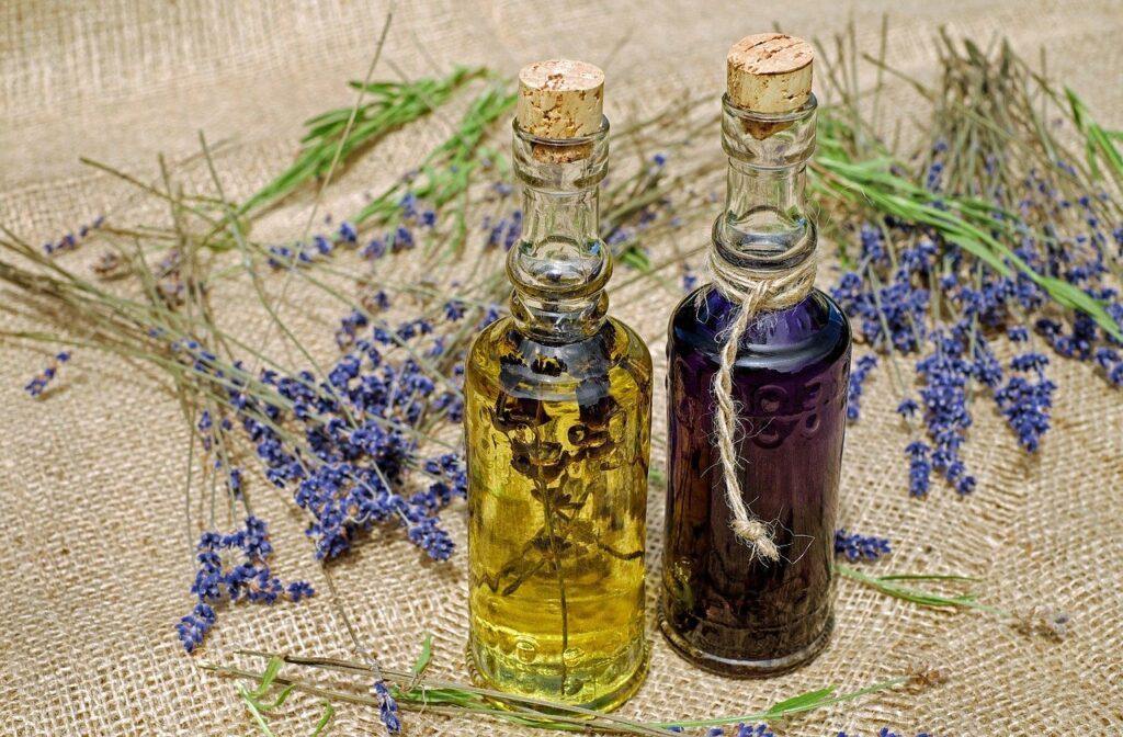 ziołowe olejki do kąpieli