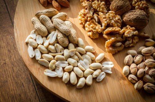 orzechy białko tłuszcz na diecie