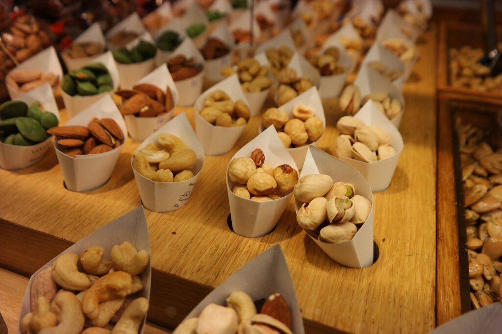 orzechy białko na diecie odchudzającej