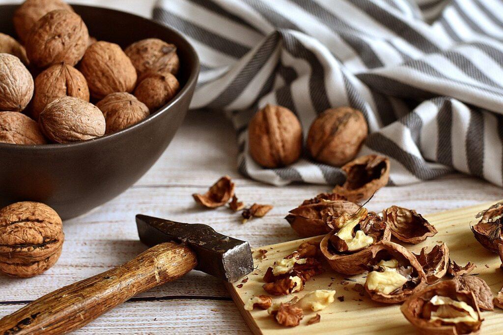 orzechy włoskie zdrowe tłuszcze