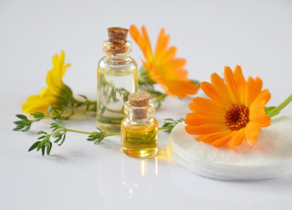 olejki i zioła do kąpieli