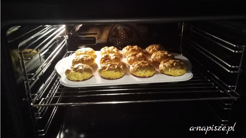 muffinki wytrawne z sera twarogowego