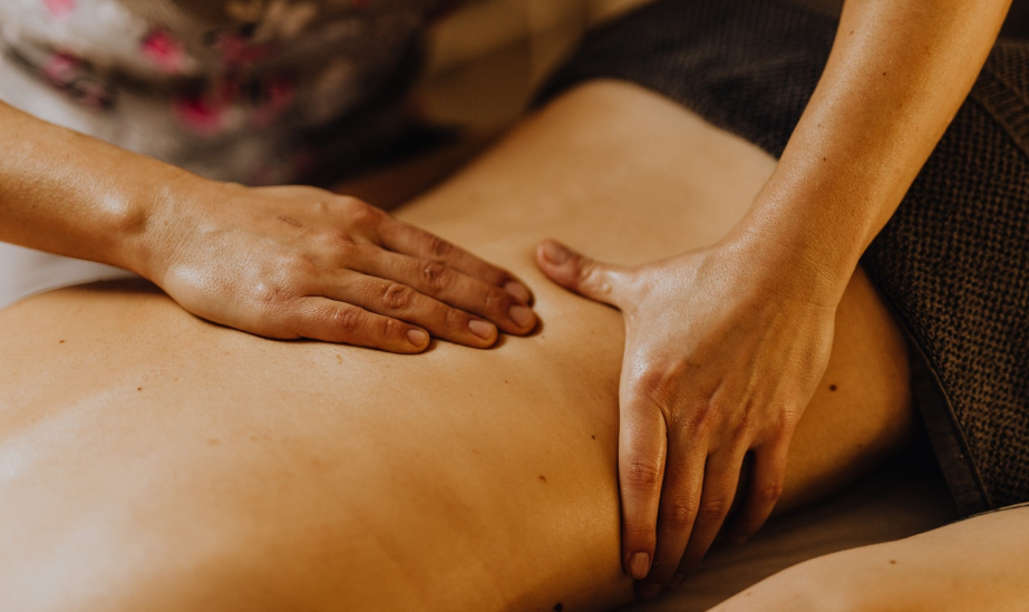 dobroczynna moc dotyku masaż