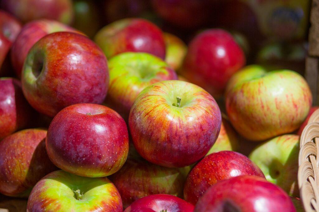 zdrowe słodycze jabłka