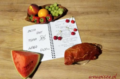 pamiętnik diety ONZ tura 14