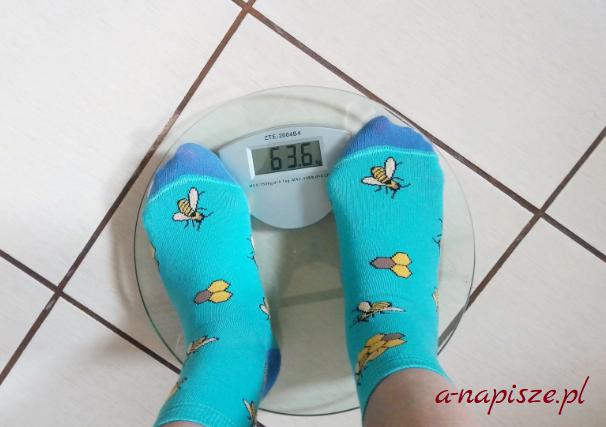 waga w trakcie diety pamiętnik odchudzania