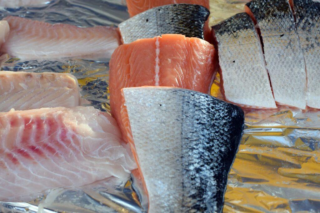 świeże ryby zdrowy tłuszcz i białko
