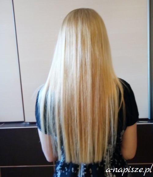 kondycja włosów po diecie odchudzającej