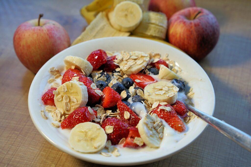 zdrowe jedzenie fit śniadanie