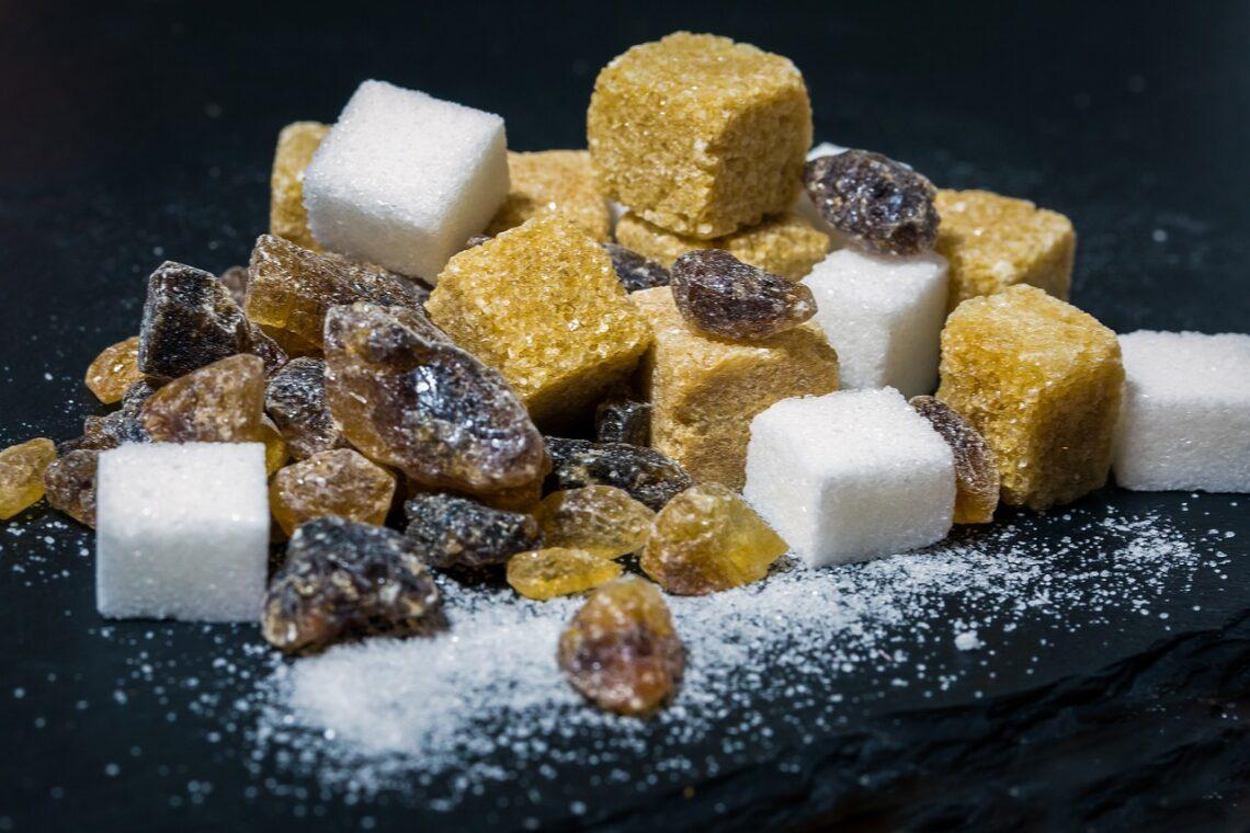 cukier w różnych wersjach