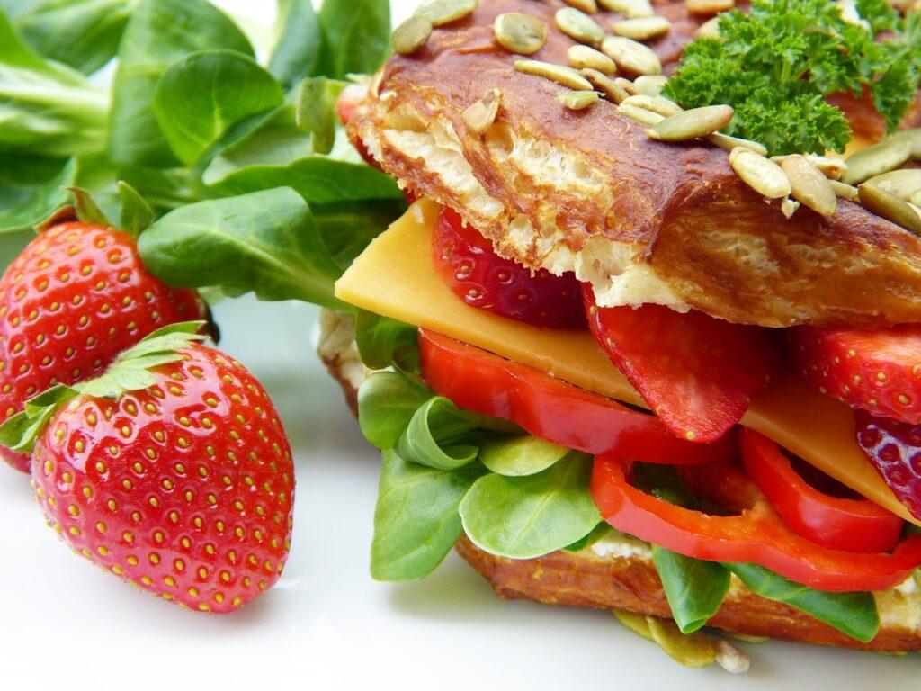 dietetyczna kanapka wychodzenie z diety